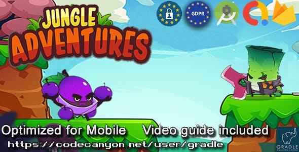 Jungle Adventure (Admob + GDPR + Android Studio)