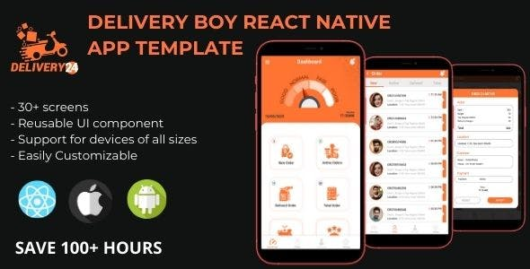 Delivery Boy - React Native App
