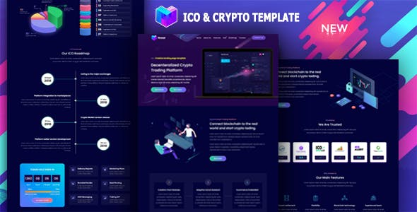 Nosar - ICO and Crypto Template