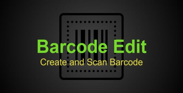 Barcode Edit