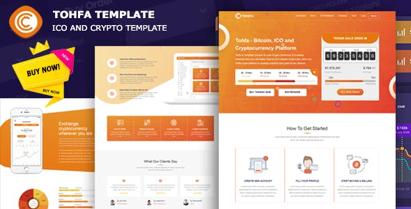 Tohfa - ICO and Crypto Template
