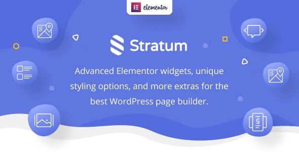 Stratum Pro - Elementor Widgets
