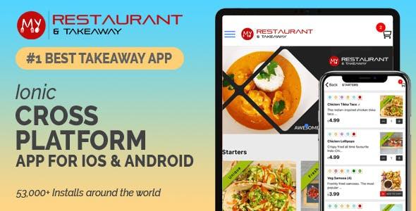 Takeaway Restaurant Online Food Ordering System (Mobile App + Website + Admin System)