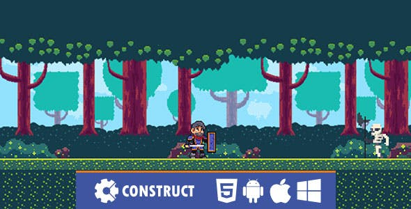 Warrior on Attack - HTML5 Mobile Game