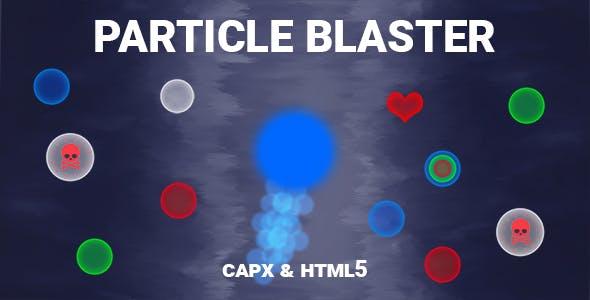 Particle Blaster Game (CAPX | HTML5 | Cordova)