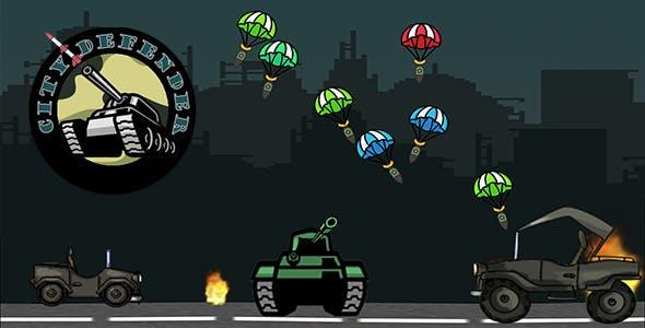 City Defender - HTML5 Mobile Game