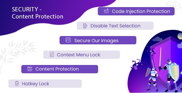 Shop Security - Content Protection - CodeCanyon Item for Sale