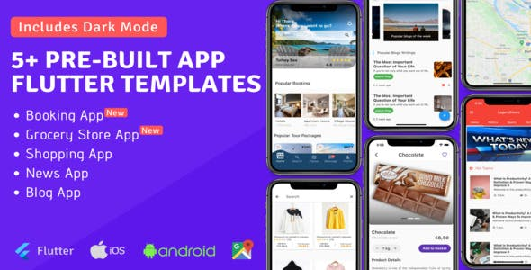 Legend - Pre-built Flutter App Templates