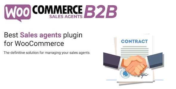 WooCommerce B2B Sales Agents - CodeCanyon Item for Sale