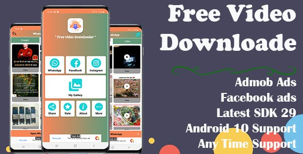 Free Video Downloader (Android App)