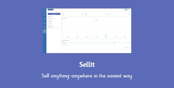 SellIt - the easiest way to sell on all social networks