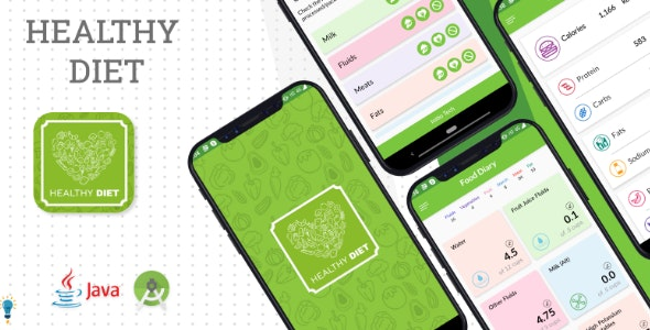 Healthy Diet Plan - Android App - CodeCanyon Item for Sale