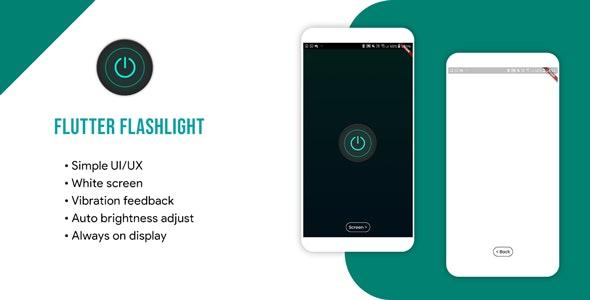 Flutter flashlight app - CodeCanyon Item for Sale