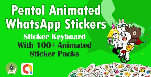 Pentol Animated WhatsApp Stickers - Sticker Keyboard
