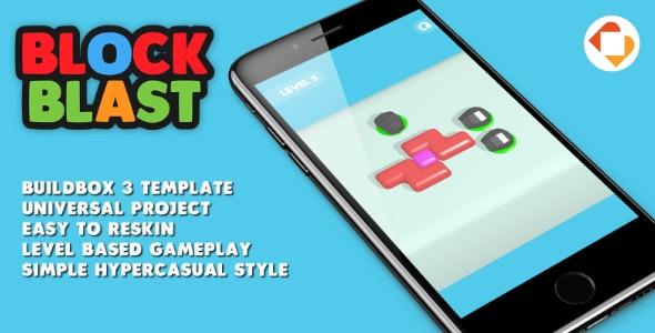 Block Blast - Buildbox 3 Template - CodeCanyon Item for Sale