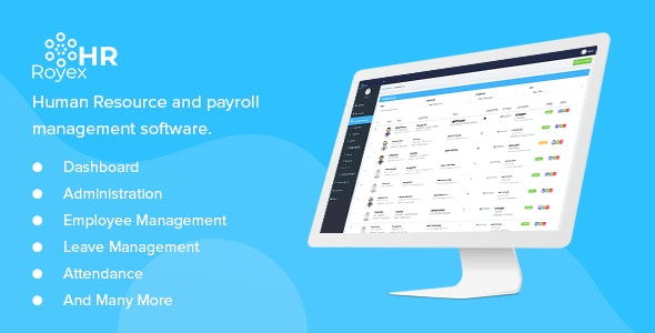 Royex - HR and Payroll Management Software - CodeCanyon Item for Sale