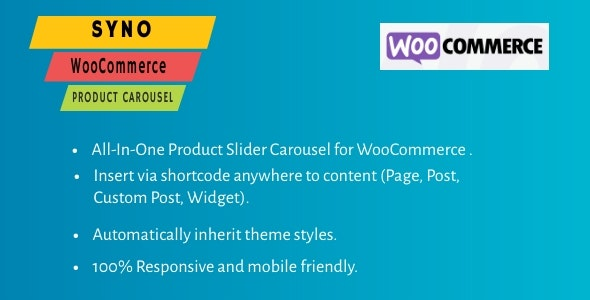 SYNO WooCommerce Product Carousel - CodeCanyon Item for Sale