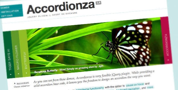 Accordionza - jQuery Plugin