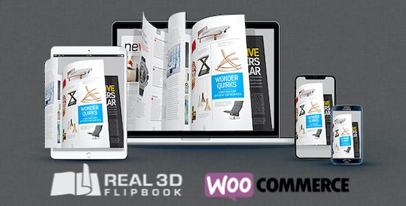 WooCommerce Real3D Flipbook Addon