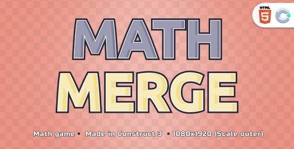 Math Merge - HTML5 Casual Game - CodeCanyon Item for Sale
