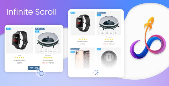 Infinite Scroll & Load More Product - CodeCanyon Item for Sale