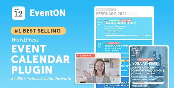EventON - WordPress Event Calendar Plugin