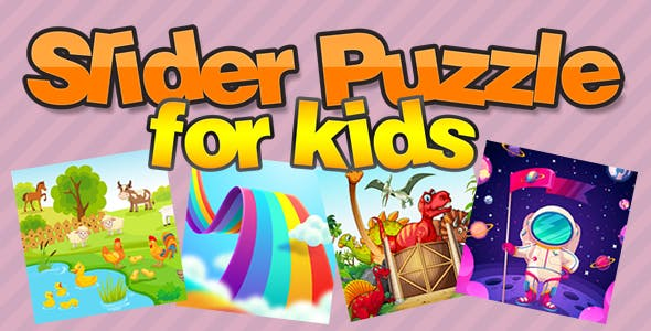 Slider Puzzle for Kids