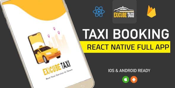 Exicube Taxi App ( GrabCab )