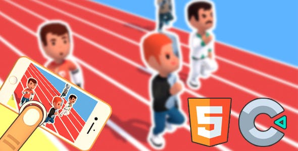 Sprint Runners - HTML5 Game - Construct2&3