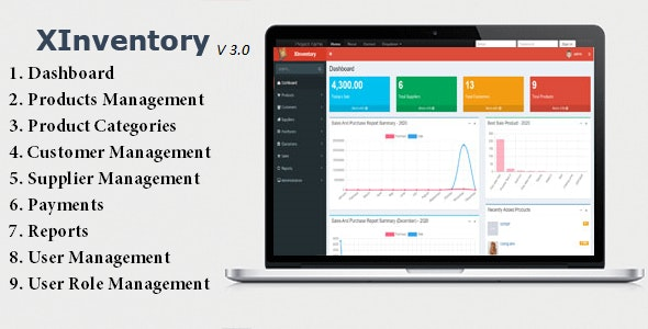 XInventory v3.0 – Sales, Purchase and Invoicing Solution
