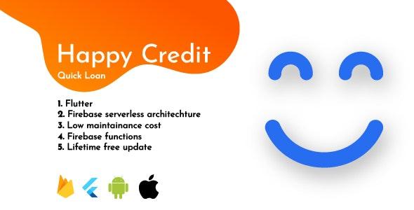 Happy Credit - Quick Loan App, mPokket Clone, KreditBee Clone - CodeCanyon Item for Sale