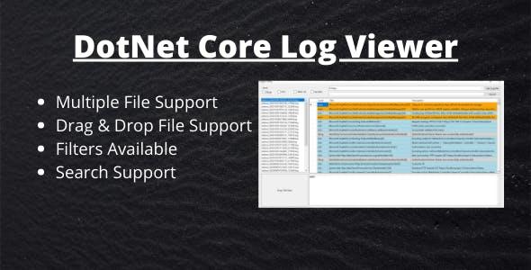 DotNet Core Log Viewer