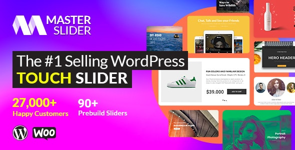 Master Slider - Touch Layer Slider WordPress Plugin - CodeCanyon Item for Sale
