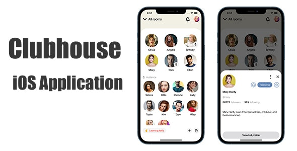 Clubhouse App SwiftUI Template - CodeCanyon Item for Sale