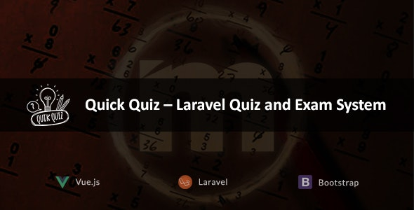 Quick Quiz – Laravel Quiz and Exam System - CodeCanyon Item for Sale