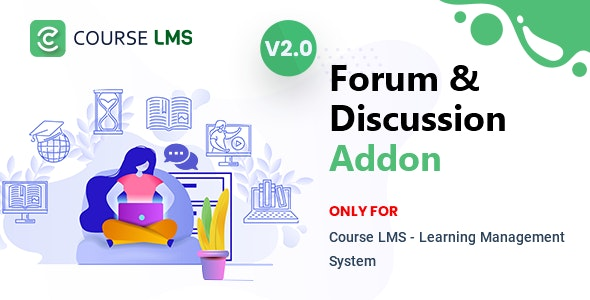 Course LMS Forum & Discussion Addon - CodeCanyon Item for Sale