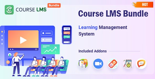 CourseLMS Bundle - Learning Management System