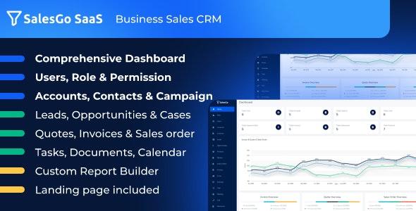 SalesGo SaaS - Business Sales CRM - CodeCanyon Item for Sale