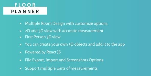 Floor Planner- Design your Floor in 3D