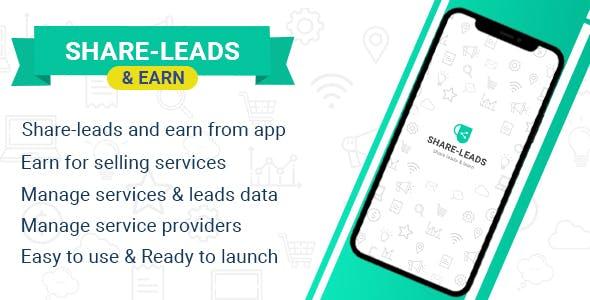 Share Leads & Earn