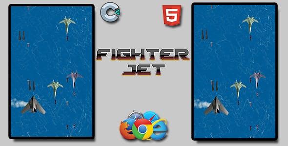 Fighter Jet - HTML5 Mobile Game