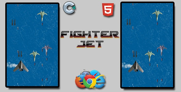Fighter Jet - HTML5 Mobile Game - CodeCanyon Item for Sale