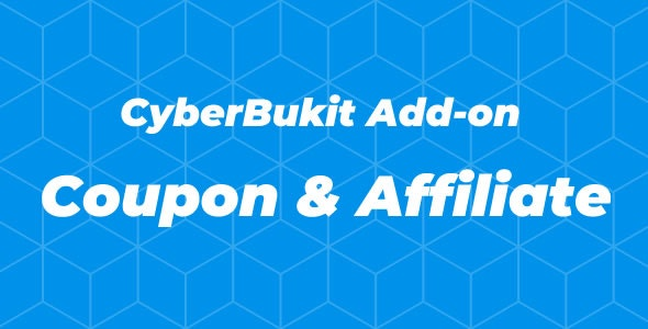 CyberBukit Add-on - Coupon and Affiliate - CodeCanyon Item for Sale