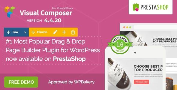 Visual Composer: Page Builder for Prestashop