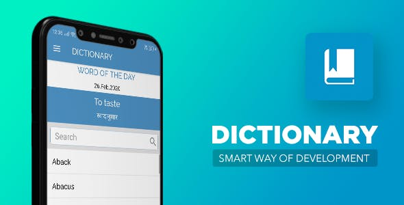 Dictionary Template for Android