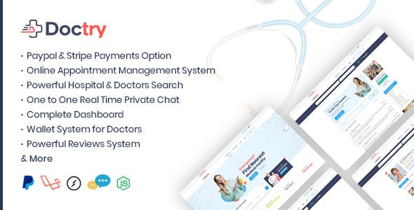Doctry - Doctors and Hospitals Listing Theme