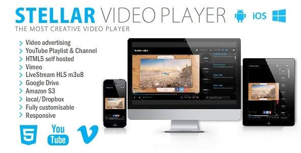 Stellar Video Player - jQuery Plugin - CodeCanyon Item for Sale
