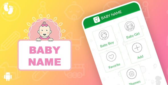 Baby Name Template for Android