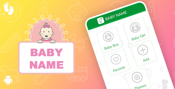 Baby Name Template for Android - CodeCanyon Item for Sale