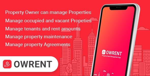 OWRENT ( Tenant & Rent managment app )